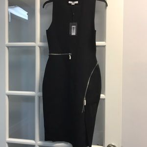 Alexander wang black mini dress